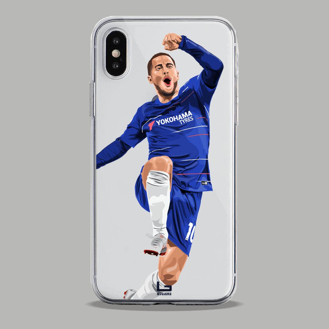 Eden Hazard celebrate chelsea phone case