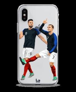 Griezmann - Giroud France phone case