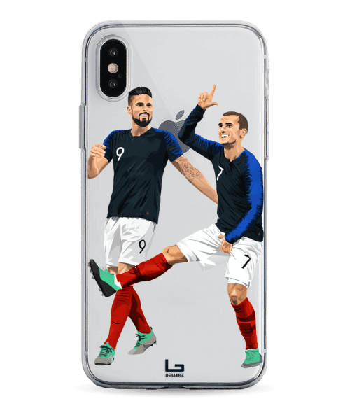 Griezmann - Giroud France phone case