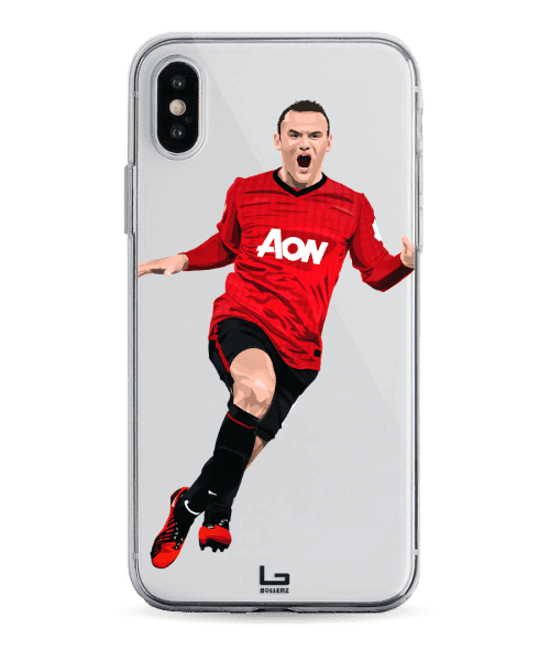 Rooney Bicycle Kick in the Derby vs City phone case