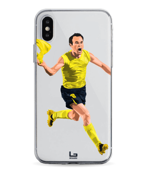 Iniesta last minute goal champions league vs Chelsea phone case