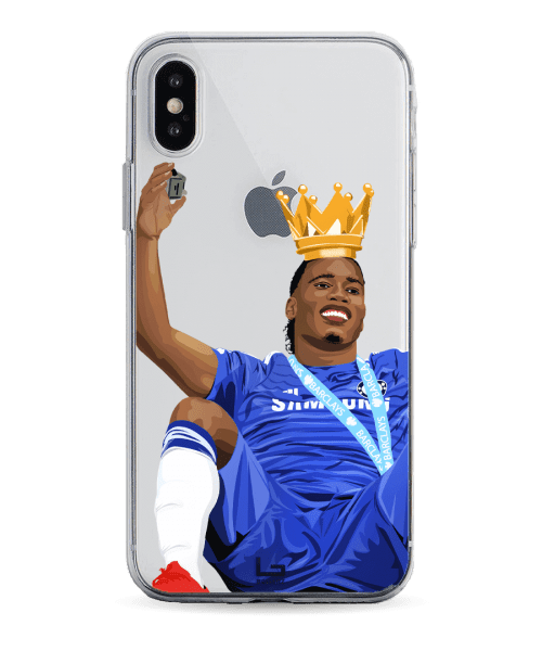 King Drogba Celebrate the EPL Championship