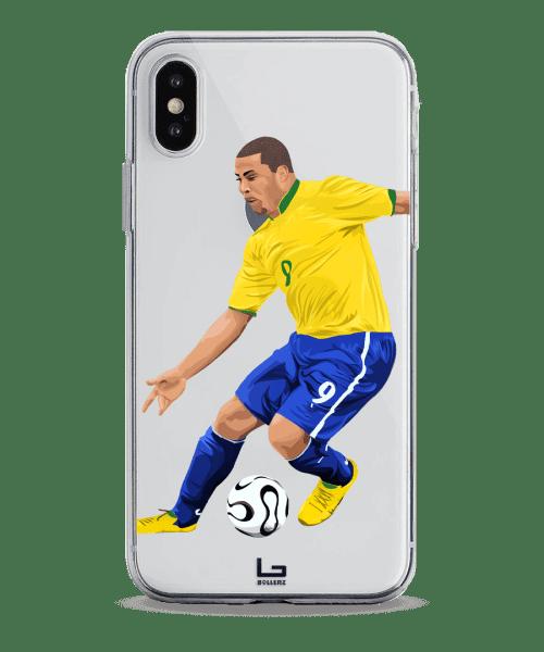 Ronaldo Fenomano dribbling phone case