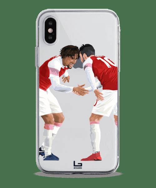 arsenal Iwobi Ozil Shake celebration phone case