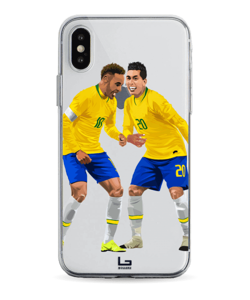 brazil Neymar and Firmino Samba celebration phone case