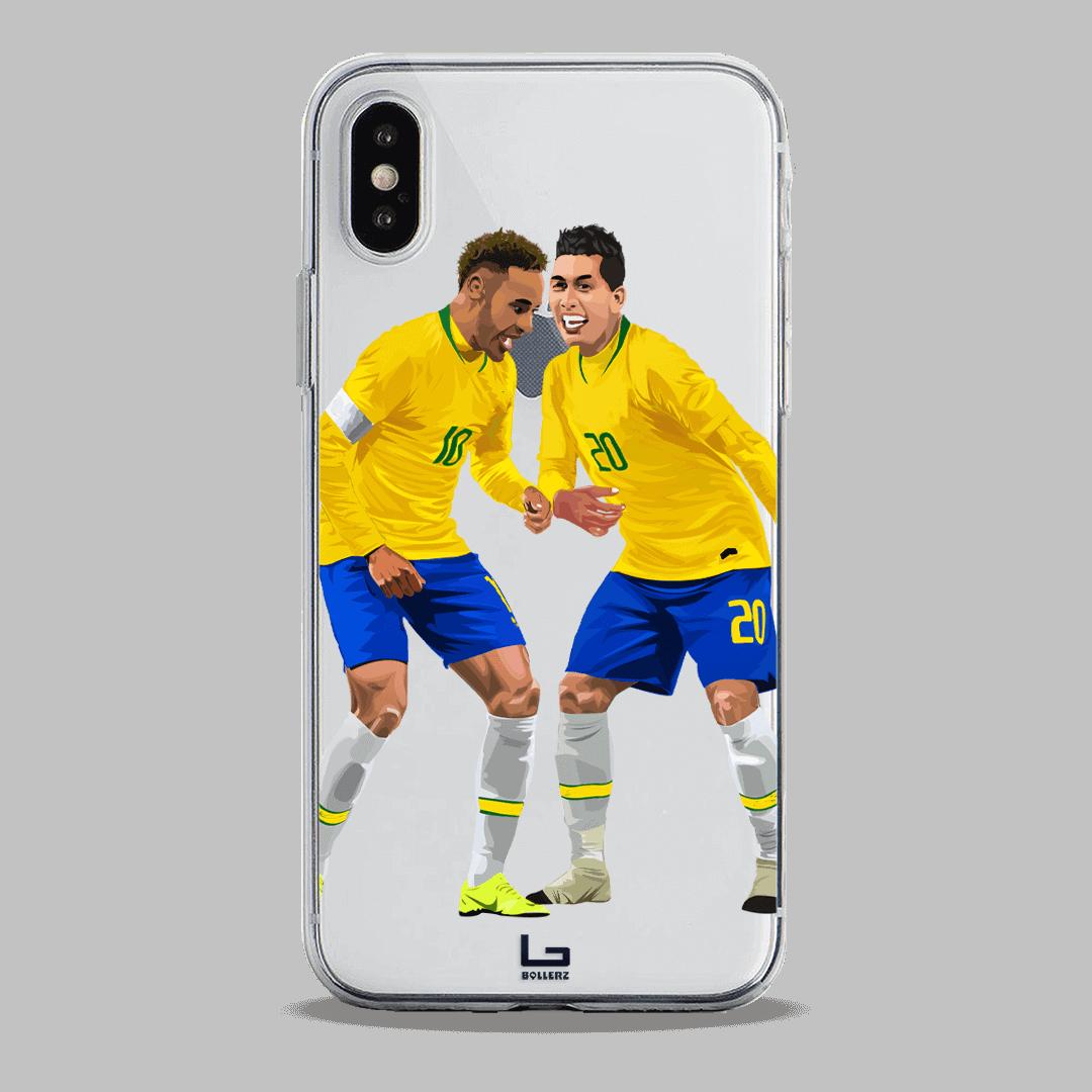 brazil Neymar and Firmino Samba celebration phone case