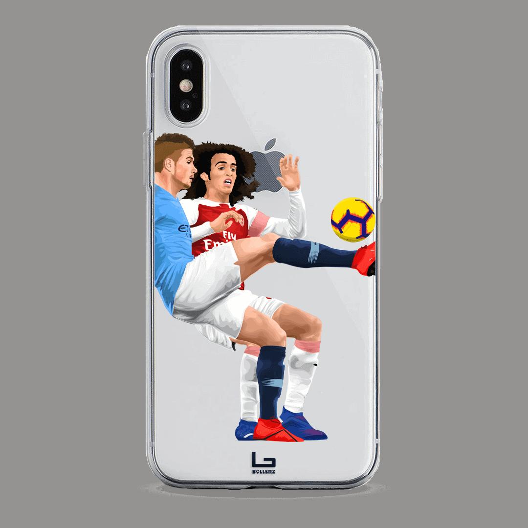 De Bruyne vs Gondouzi phone case