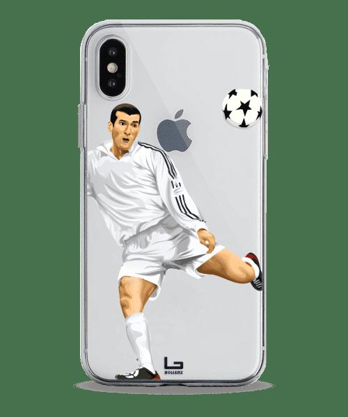 Zidane CL Final volley Goal phone case