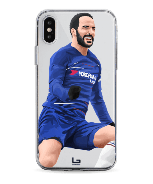 Higuain scores for chelsea phone case