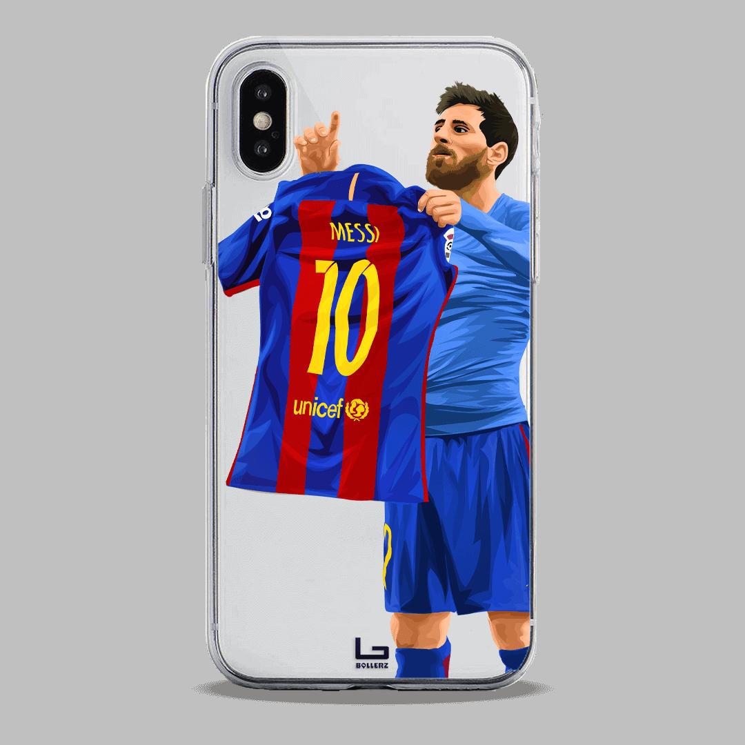 BernaLeo Messi Show Shirt at Santiago Bernabeu