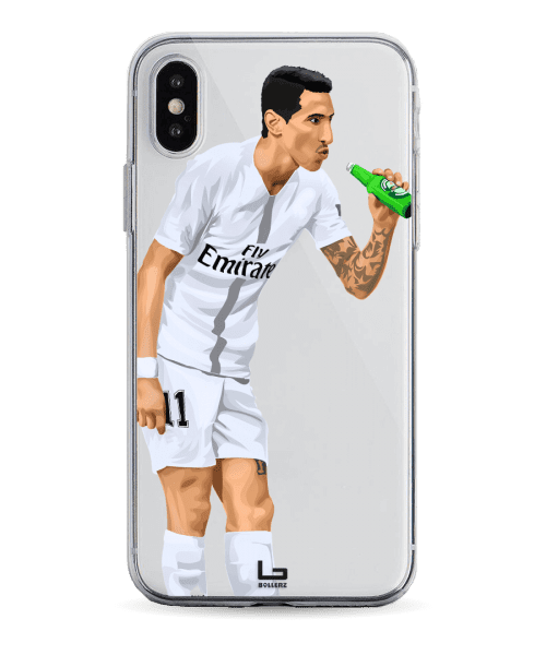 Di Maria Bottle celebration vs united old traford phone case