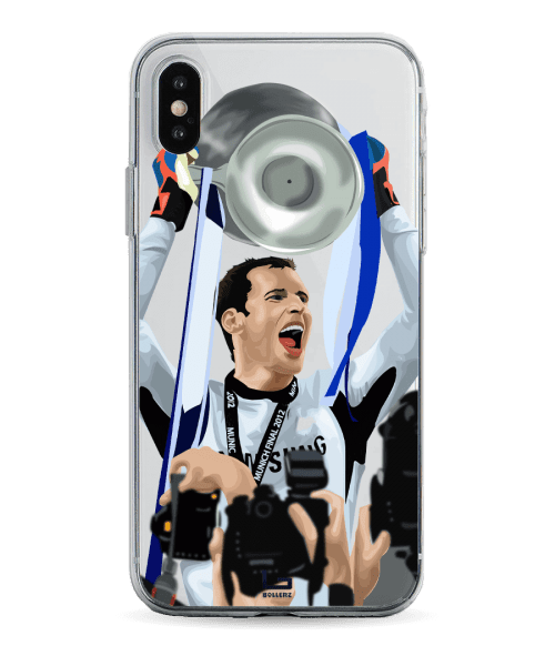 Petr Cech CL Cup winner phone case