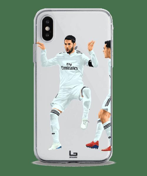 Ramos Tweet celebration vs atletico on madrid Derby phone case