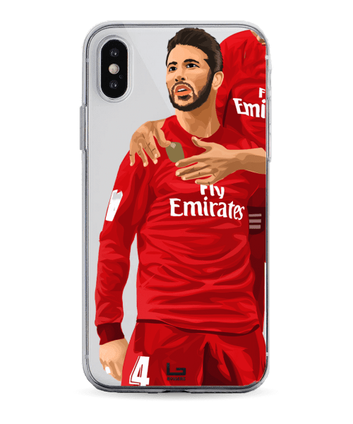 Ramos goal celebration vs Espanyol phone case