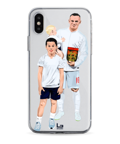 Rooney England Last Game phone case