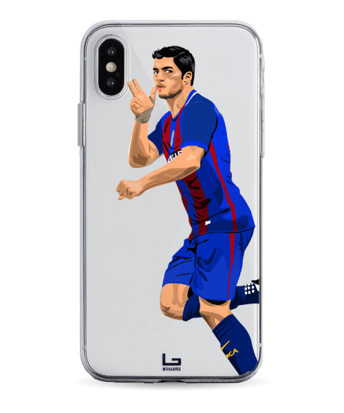 Suarez 3 Fingers celebration phone case