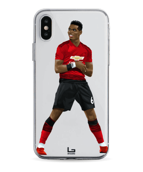 paul Pogba standing phone case