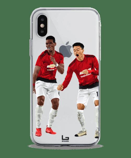 united Lingard and Pogba celebration phone case
