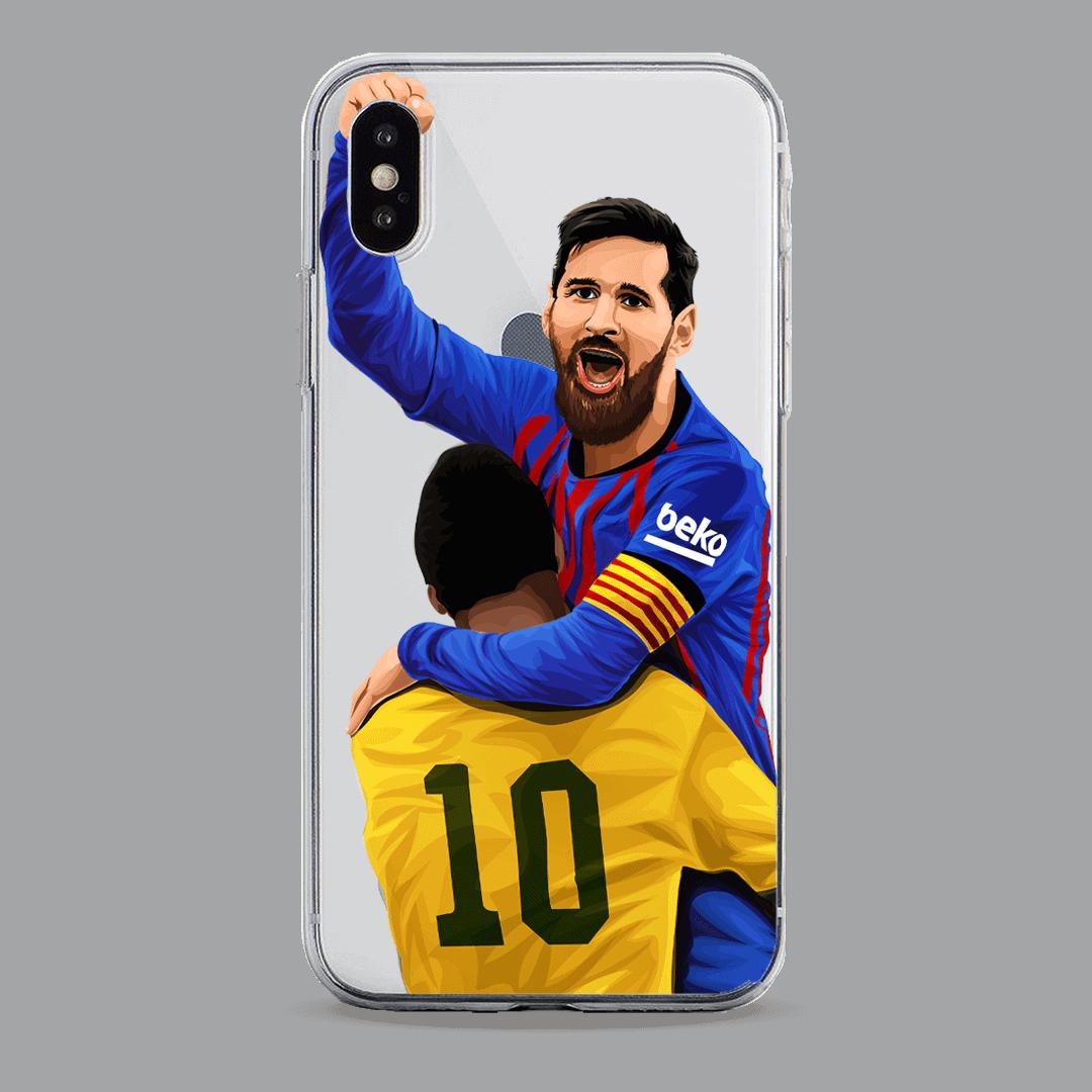 Messi & Pele Messi over Dembele