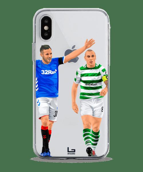 Scott Arfield vs Scott Brown Old Firm Rangers Celtic