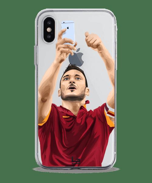Totti Selfie celebration phone case