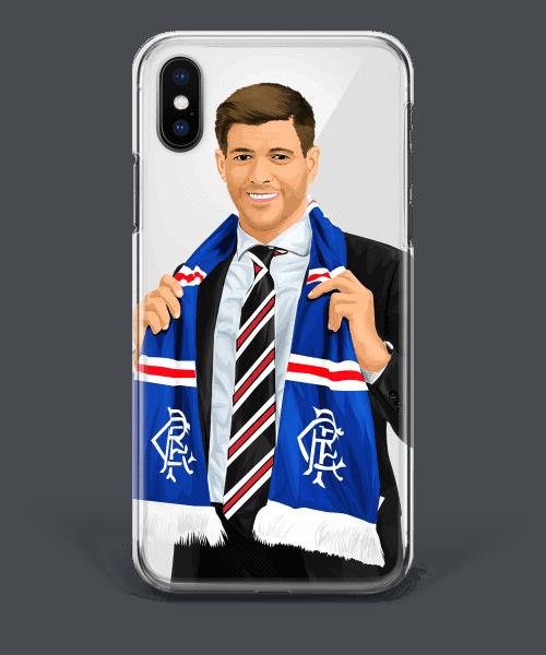 Steven Gerrard Rangers Manager Boss