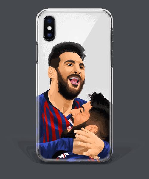 Leo Messi & Luis Suaerz Phone Case Barca