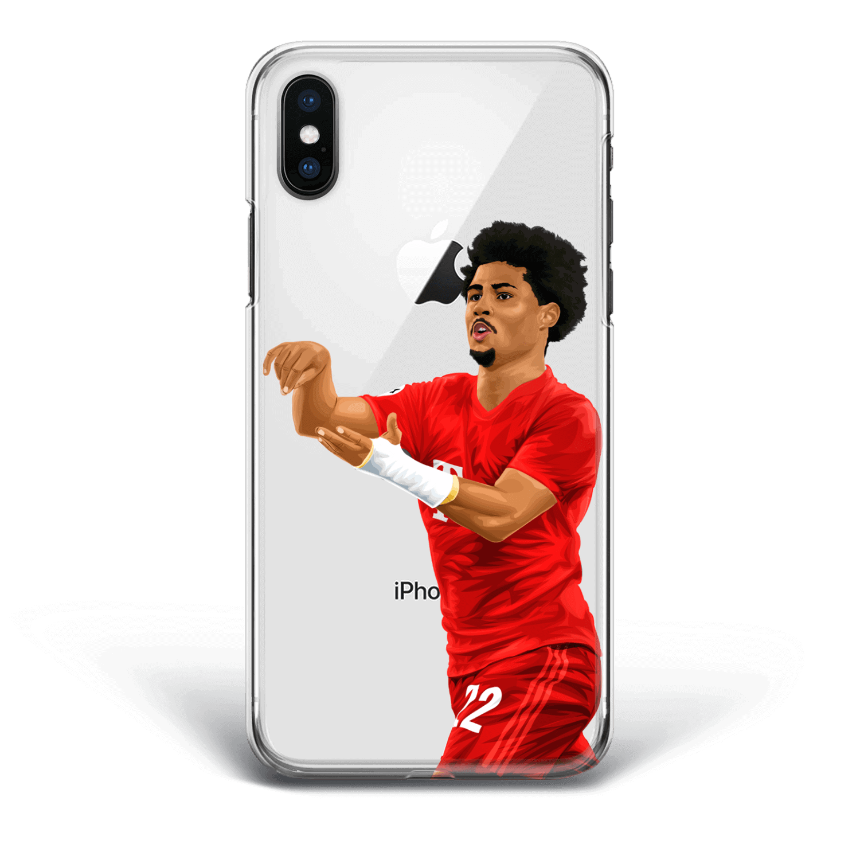 Gnabry Four Goals Phone Case Champion League vs Tottenham