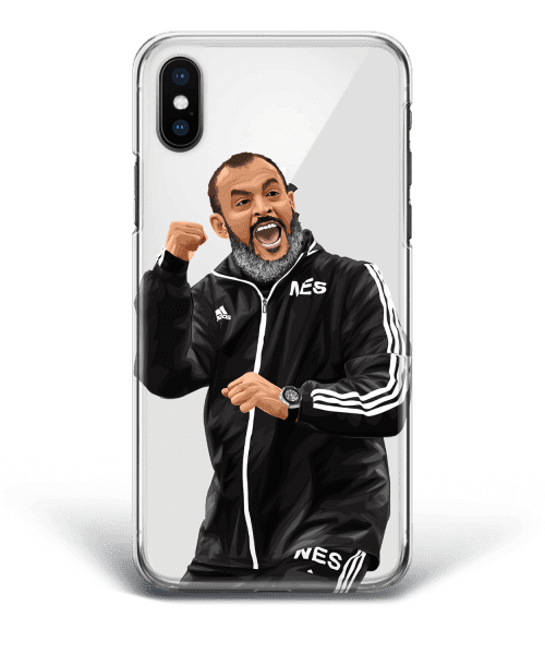 Nuno Espirito Santo phone case Celebrates vs Manchester City