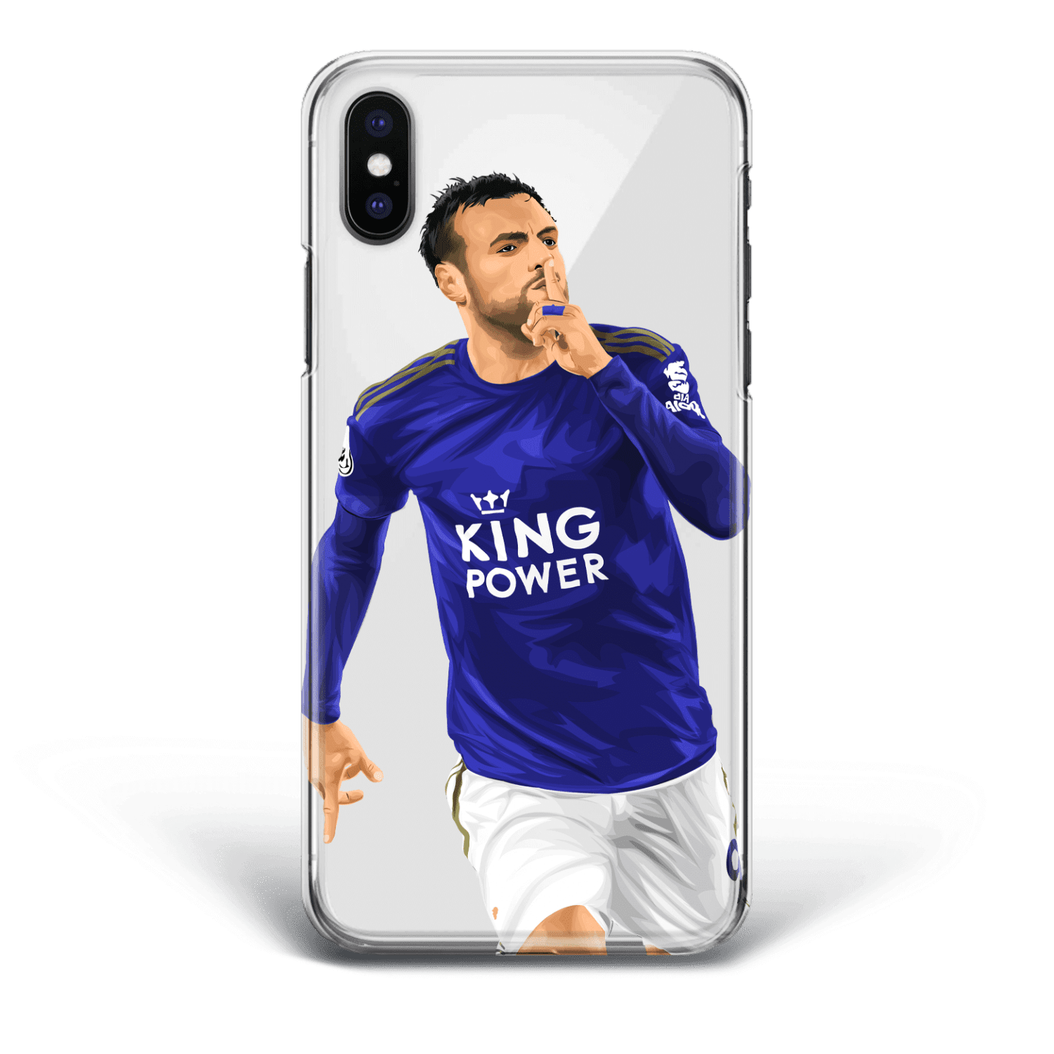 Jamie Vardy Hattrick vs southampton 0:9 away phone case