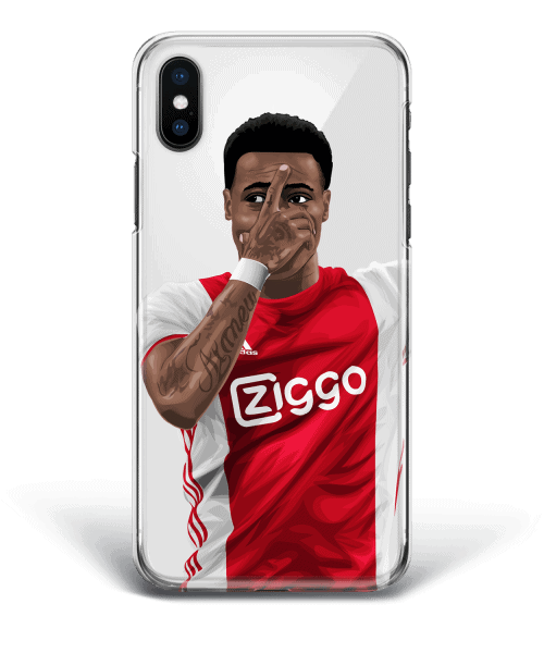 Quincy Promes Mask Celebration Ajax MaskQP
