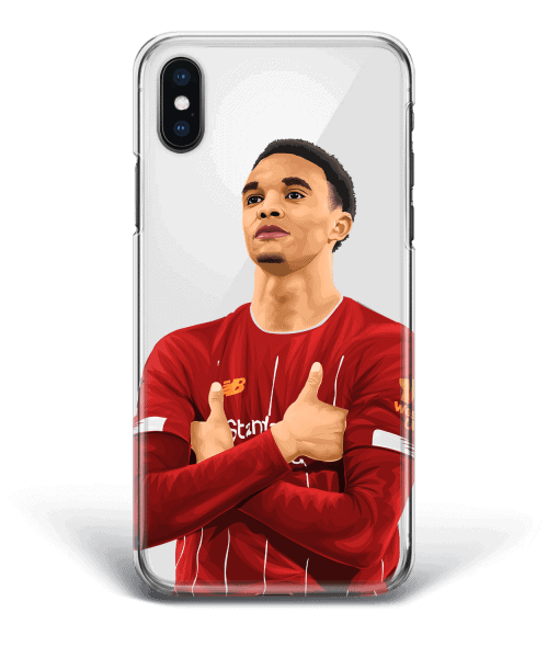 Trent Alexander Arnold celebrates another top performance against Leicester City