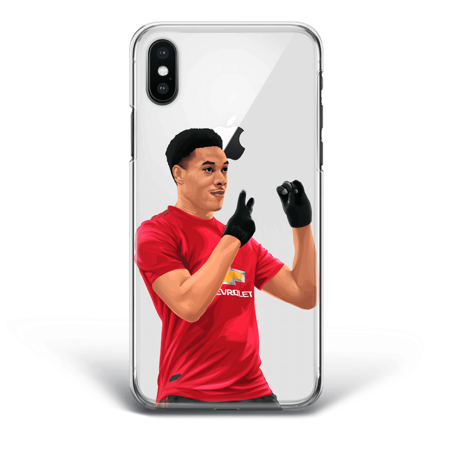 Martial Trolling City after scoring united's 0:2 phone case
