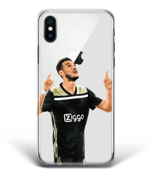 Noussair Mazraoui Ajax Goal Phone Case