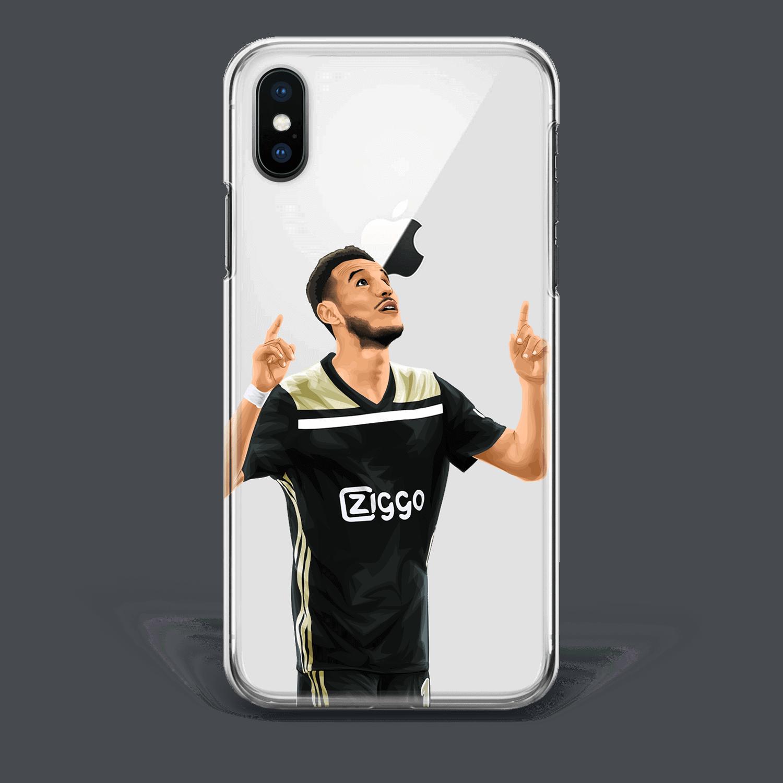 Noussair Mazraoui Ajax Goal Phone Case