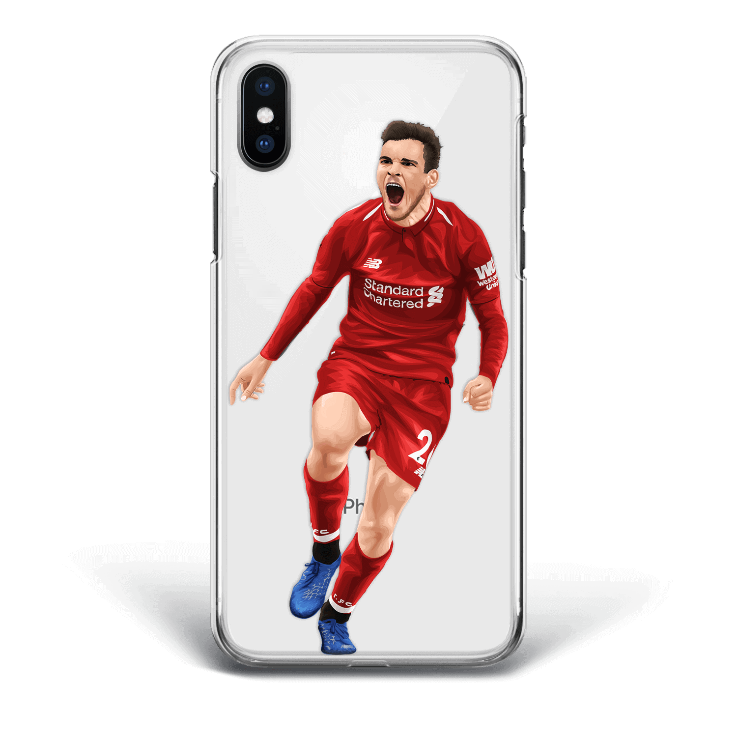 Andy Robertson phone case bollerz