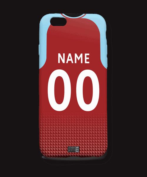 Aston Villa 19-20 Home kit phone case