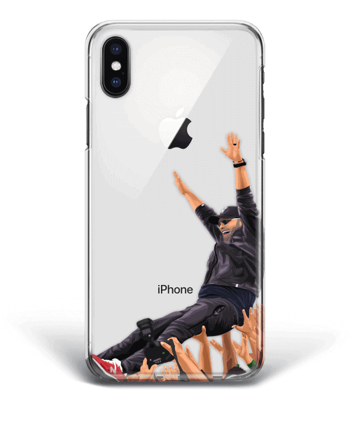 Jurgen Klopp is in the air Liverpool phone case