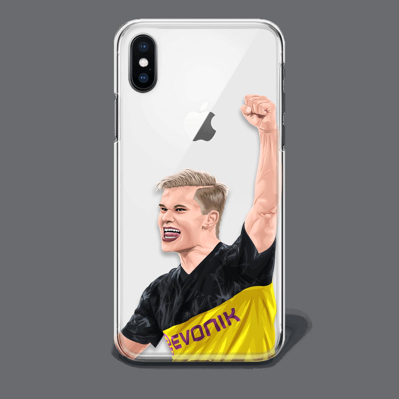 Dortmund Erling Haaland phone case