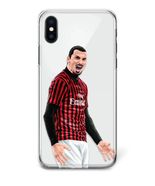 IZ Back Zlatan Ibrahimovic vs Inter phone case