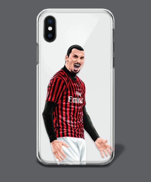 IZ Back Zlatan Ibrahimovic vs Inter phone case