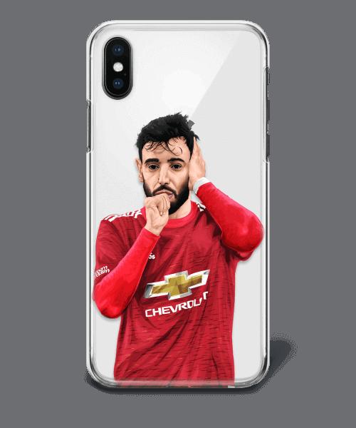 Manchester united Bruno Fernandes phone case