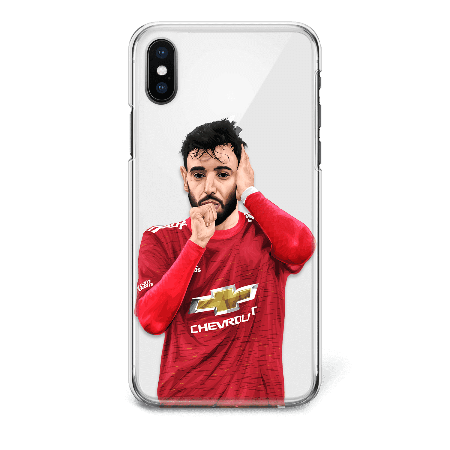 Manchester united Bruno Fernandes phone case