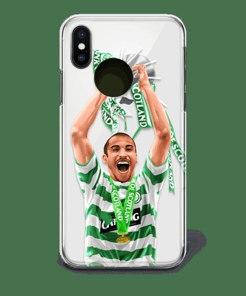 Henrik Larsson celtic phone case