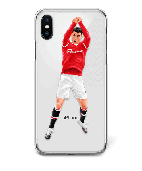 Cristiano Is Back at Old Trafford phone case
